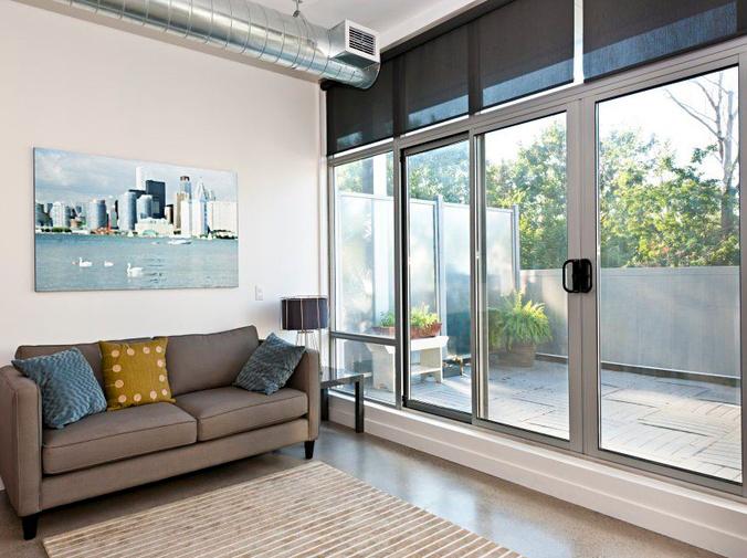 Ideas para usar puertas correderas de cristal en el interior de una casa