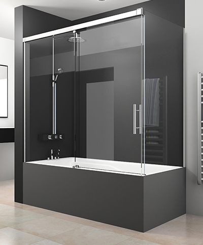 Mamparas correderas de ducha y bañera